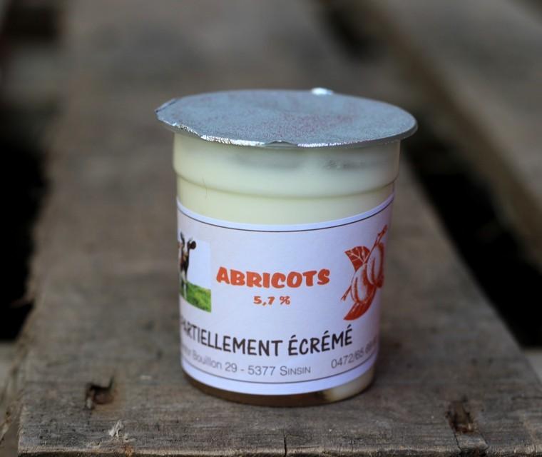 Bio Yaourt aux abricots Ferme du Bairy