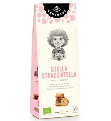 """Bio Palets aux pépites de chocolat """"Stella Stracciatella"""", sans gluten Generous"""