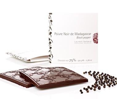 Poivre noir de Madagascar et chocolat noir Laurent Gerbaud