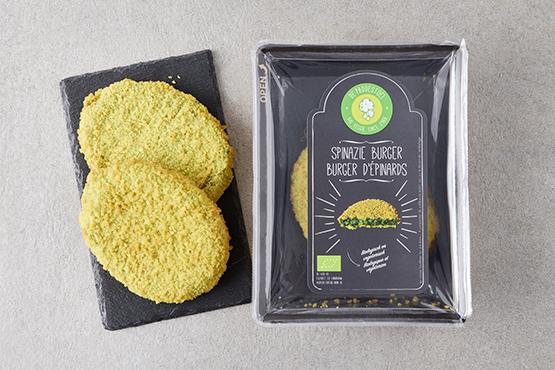 Bio Burgers d'épinards, De Paddestoel