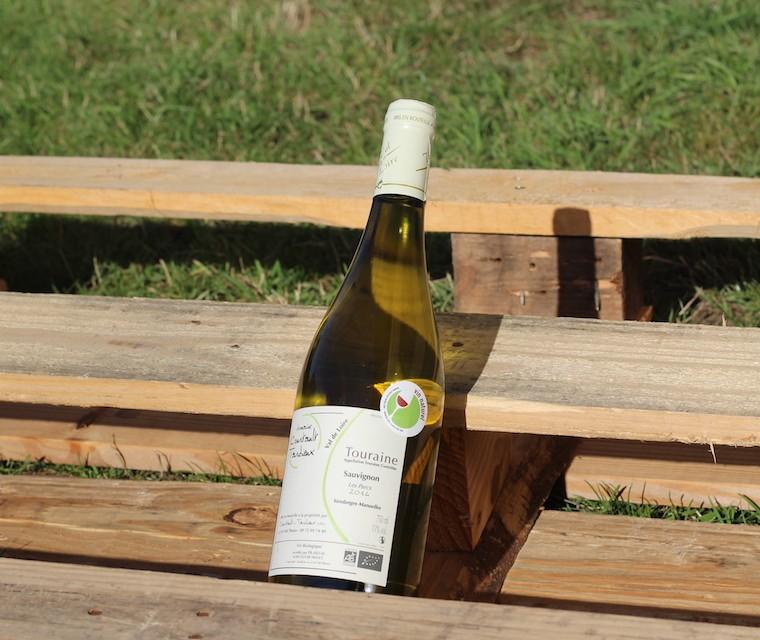 """Bio Sauvignon """"Les Sagères"""" - Domaine Courtault Tardieux Vin naturel"""