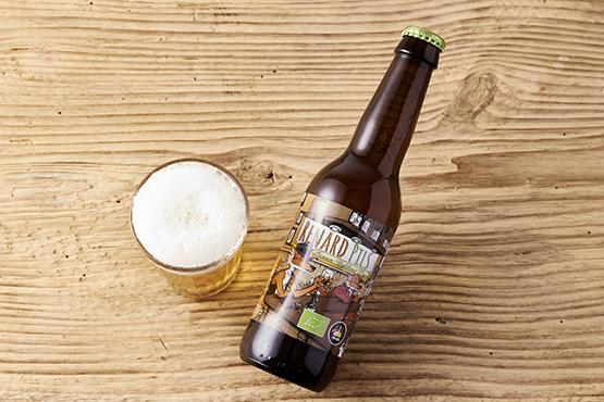 Bio La Blondasse, bière blonde légère finement houblonnée La Brasserie du Renard