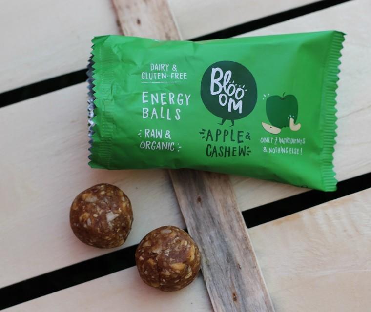 Bio Energy balls pomme et noix de cajou Blooom