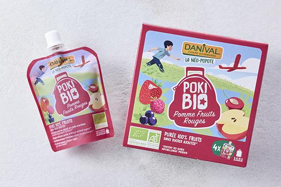 Bio PokiBio Pomme Fruits Rouges