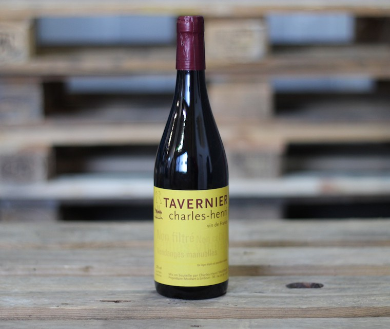 Tavernier, Vin rouge Vin naturel