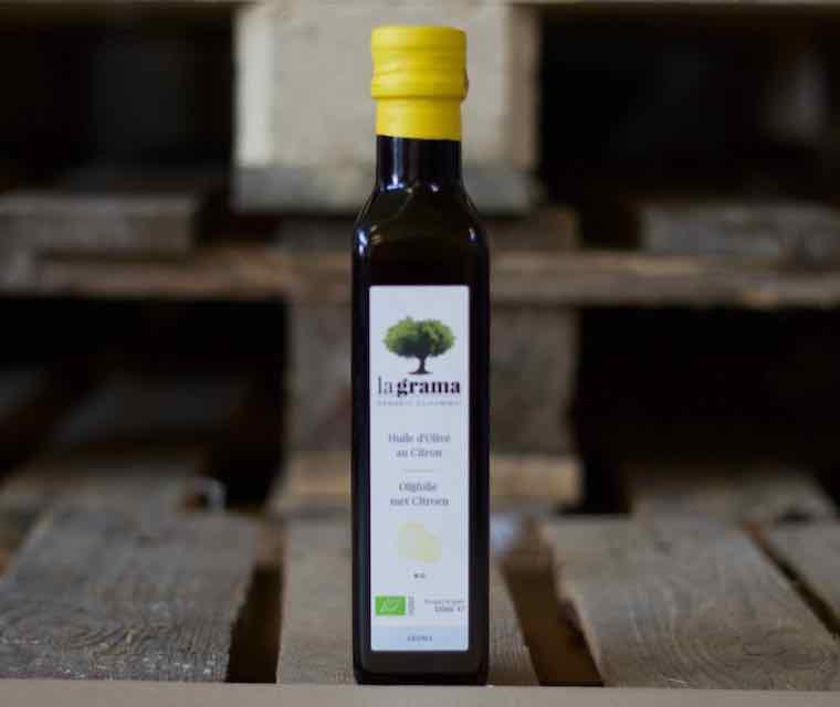 Bio Huile d'olive au citron La Grama