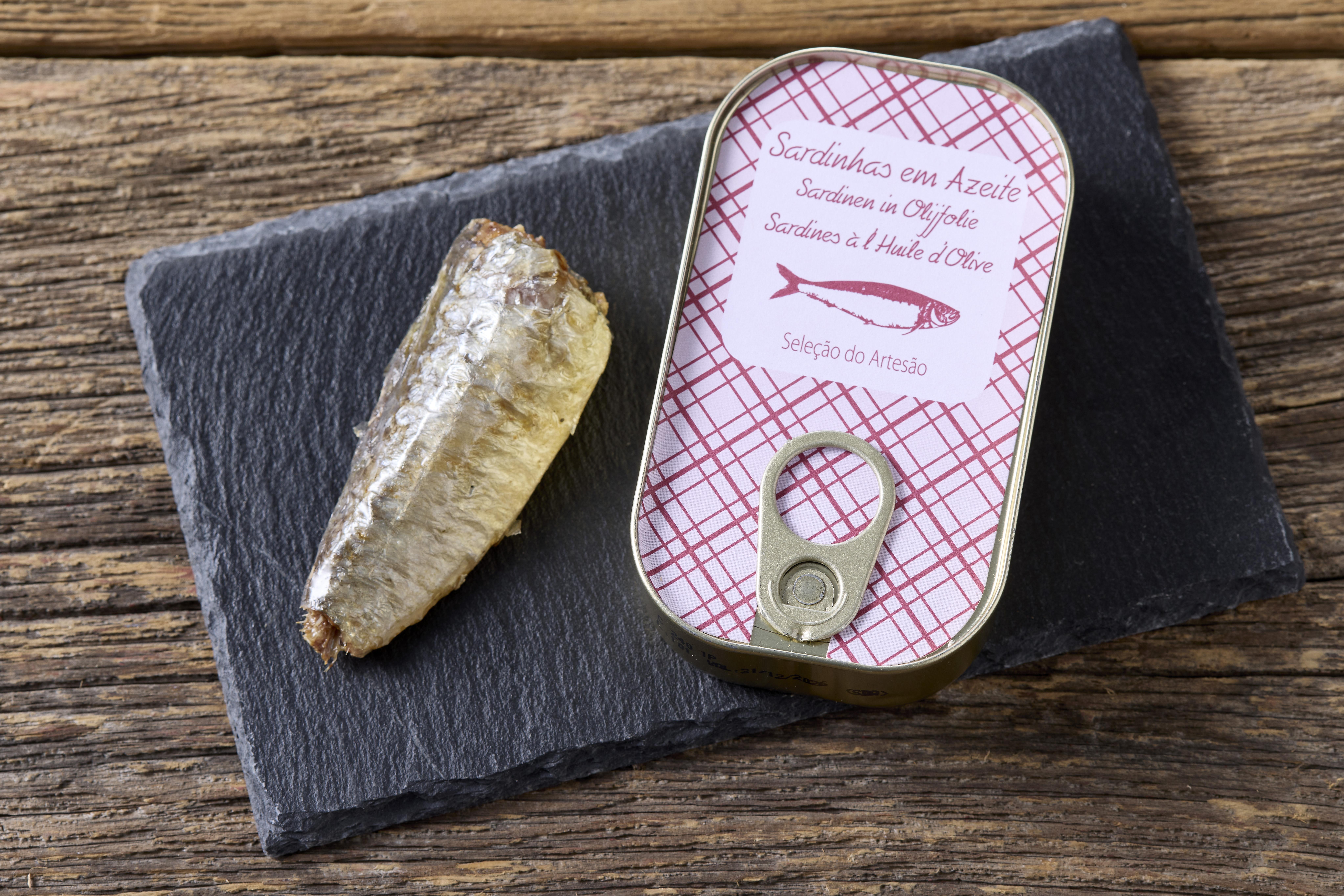 Sardines à l'huile d'olive Saboreal