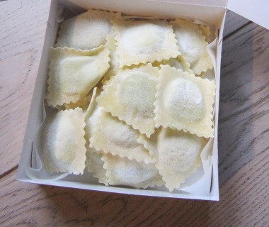 Raviolis légumes grillés et scarmoza Raviolart