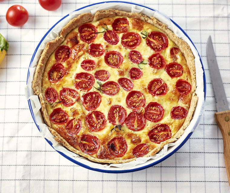Tartes aux tomates roties